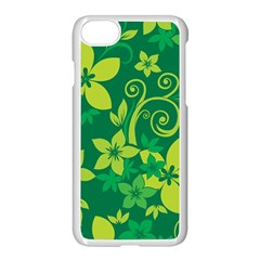 Flower Yellow Green Apple Iphone 7 Seamless Case (white)