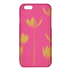Flower Yellow Pink iPhone 6/6S TPU Case