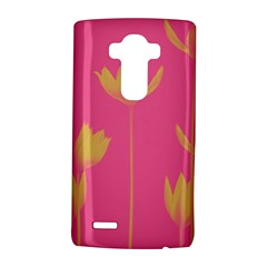 Flower Yellow Pink LG G4 Hardshell Case