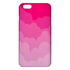 Lines Pink Cloud iPhone 6 Plus/6S Plus TPU Case