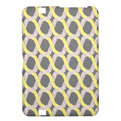 Hearts And Yellow Washi Zigzags Tileable Kindle Fire Hd 8 9