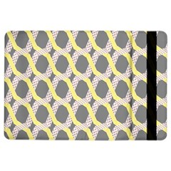 Hearts And Yellow Washi Zigzags Tileable Ipad Air 2 Flip