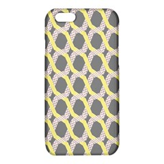 Hearts And Yellow Washi Zigzags Tileable iPhone 6/6S TPU Case
