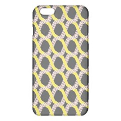 Hearts And Yellow Washi Zigzags Tileable iPhone 6 Plus/6S Plus TPU Case
