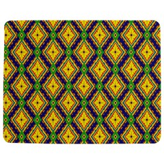 Morocco Flower Yellow Jigsaw Puzzle Photo Stand (Rectangular)