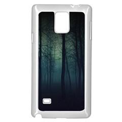 Dark Forest Samsung Galaxy Note 4 Case (white)