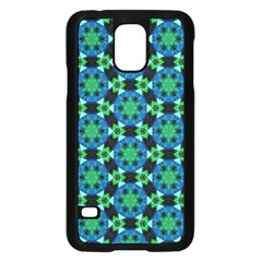Flower Green Samsung Galaxy S5 Case (black)