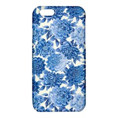 Blue flowers iPhone 6/6S TPU Case