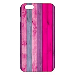 Pink wood  iPhone 6 Plus/6S Plus TPU Case