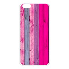 Pink wood  Apple Seamless iPhone 6 Plus/6S Plus Case (Transparent)