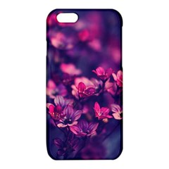 Blurry lila flowers iPhone 6/6S TPU Case