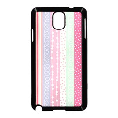 Pastel Colored  Wood Samsung Galaxy Note 3 Neo Hardshell Case (black)