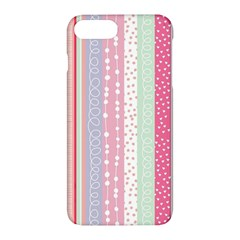 Pastel Colored  Wood Apple Iphone 7 Plus Hardshell Case