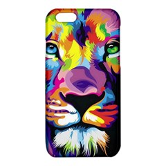 Colorful lion iPhone 6/6S TPU Case