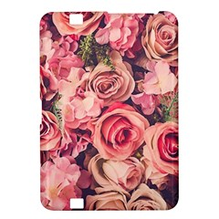 Pink Roses Kindle Fire Hd 8 9