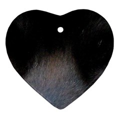 black to gray fade Ornament (Heart)