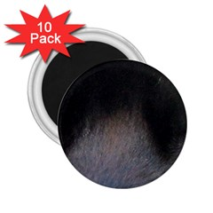 black to gray fade 2.25  Magnet (10 pack)