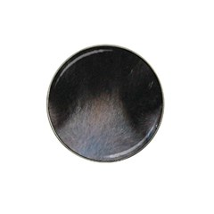black to gray fade Hat Clip Ball Marker