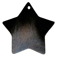 black to gray fade Star Ornament (Two Sides)