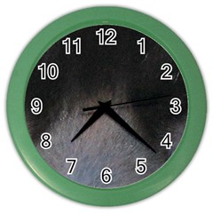 black to gray fade Color Wall Clock