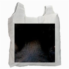 black to gray fade Recycle Bag (One Side)