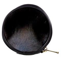 black to gray fade Mini Makeup Bag
