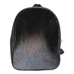 black to gray fade School Bag (Large)