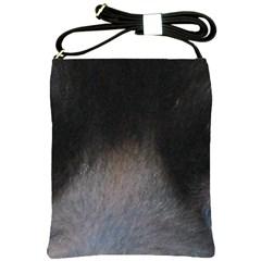 black to gray fade Shoulder Sling Bag