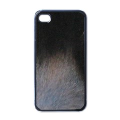 black to gray fade Apple iPhone 4 Case (Black)