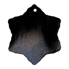 black to gray fade Ornament (Snowflake)