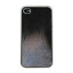 black to gray fade Apple iPhone 4 Case (Clear)