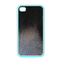 black to gray fade Apple iPhone 4 Case (Color)