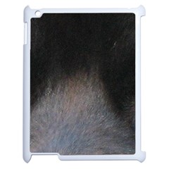 black to gray fade Apple iPad 2 Case (White)