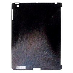 black to gray fade Apple iPad 3/4 Hardshell Case (Compatible with Smart Cover)