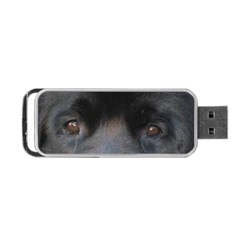 black to gray fade Portable USB Flash (Two Sides)