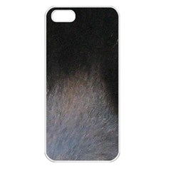 black to gray fade Apple iPhone 5 Seamless Case (White)