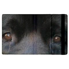 black to gray fade Apple iPad 3/4 Flip Case