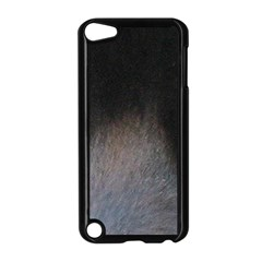 black to gray fade Apple iPod Touch 5 Case (Black)