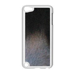 black to gray fade Apple iPod Touch 5 Case (White)