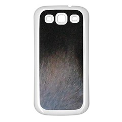 black to gray fade Samsung Galaxy S3 Back Case (White)