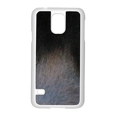 black to gray fade Samsung Galaxy S5 Case (White)