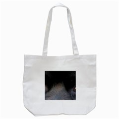 black to gray fade Tote Bag (White)