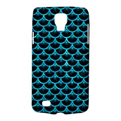 Scales3 Black Marble & Turquoise Marble Samsung Galaxy S4 Active (i9295) Hardshell Case