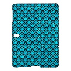 Scales2 Black Marble & Turquoise Marble (r) Samsung Galaxy Tab S (10 5 ) Hardshell Case