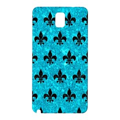 Royal1 Black Marble & Turquoise Marble Samsung Galaxy Note 3 N9005 Hardshell Back Case