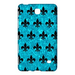 Royal1 Black Marble & Turquoise Marble Samsung Galaxy Tab 4 (7 ) Hardshell Case