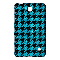 Houndstooth1 Black Marble & Turquoise Marble Samsung Galaxy Tab 4 (8 ) Hardshell Case