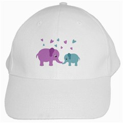 Elephant love White Cap