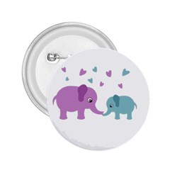 Elephant love 2.25  Buttons
