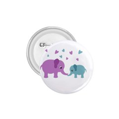 Elephant love 1.75  Buttons